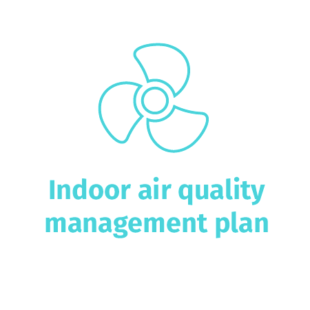 Indoor air quality management plan